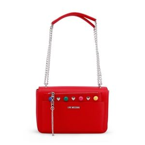 Love Moschino Red Crossbody Bag Womens Purse